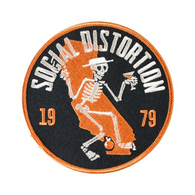 social-distortion - Cali Skelly Patch