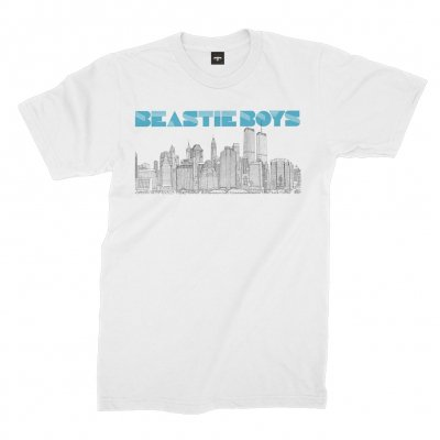 beastie-boys - To The 5 Boroughs Tee (White)