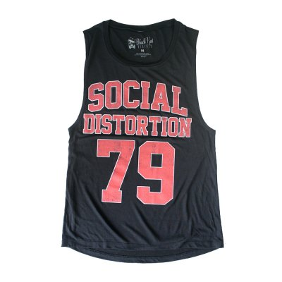 social-distortion - Athletic House Muscle Tank Top (Black)