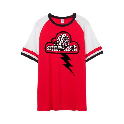 frank-iero - Rain Jersey T-Shirt (Red)