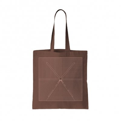 touche-amore - Lined Tote Bag (Brown)