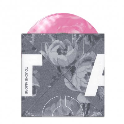 "touche-amore - The Casket Lottery Split 7"" (Pink/White)"