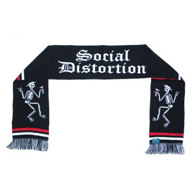 social-distortion - Social Distortion Est. 1979 Skelly Scarf