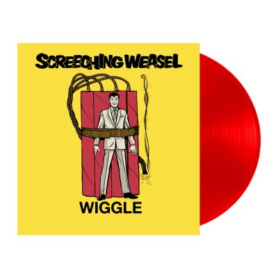 screeching-weasel - Wiggle LP (Red)