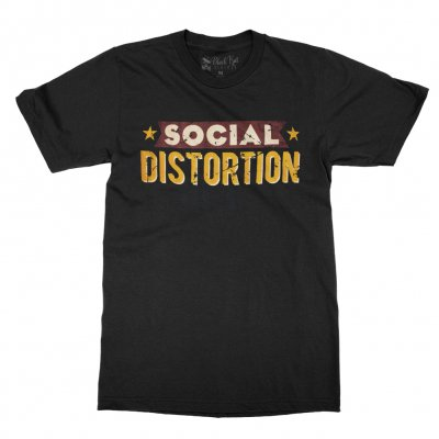 social-distortion - 2017 Spring Tour T-Shirt (Black)