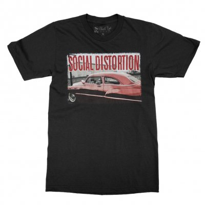 social-distortion - Mike's Chevy T-Shirt (Black)