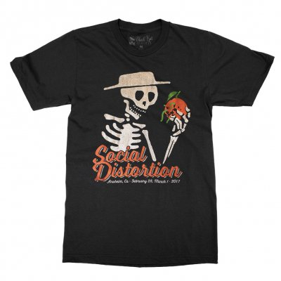 social-distortion - Moldy Orange T-Shirt (Black)