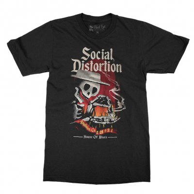 social-distortion - Burning Down The House T-Shirt (Black)
