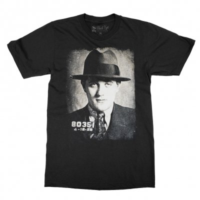 social-distortion - Bugsy Mugshot T-Shirt (Black)