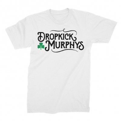 dropkick-murphys - Old World Tee (White)