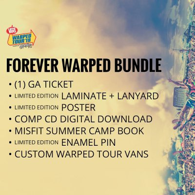 vans-warped-tour - 2018 Forever Warped Bundle