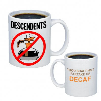 descendents - Thou Shalt Not Coffee Mug (Boxed)