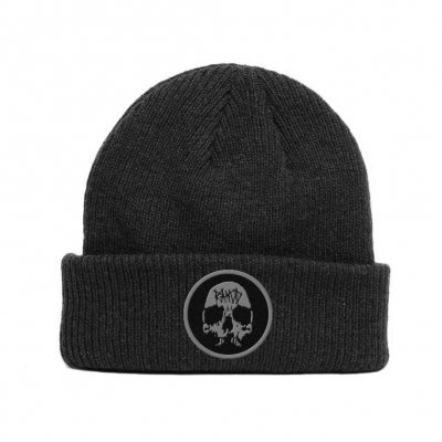 rancid - Skull Embroidered Beanie (Black)