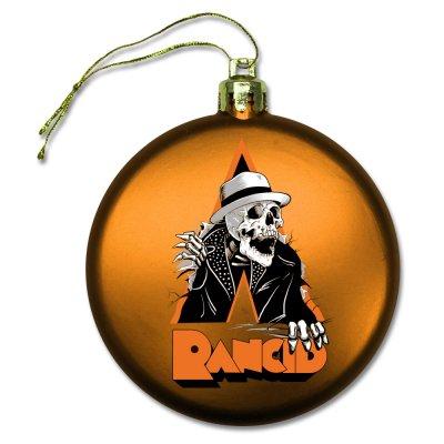rancid - Skele-Tim Breakout Ornament (Orange)
