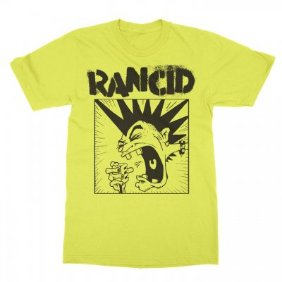 rancid - Screaming Mohawk Tee (Yellow)