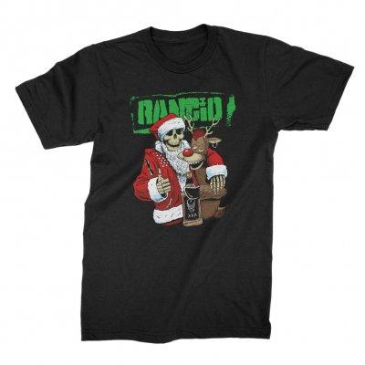 rancid - Christmas T-Shirt (Black)