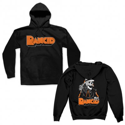 rancid - Skele-Tim Breakout Pullover Hoodie (Black)