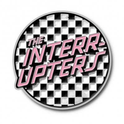 the-interrupters - Checkered Enamel Pin