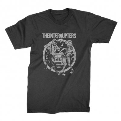 the-interrupters - Dancing Couple T-Shirt (Black)