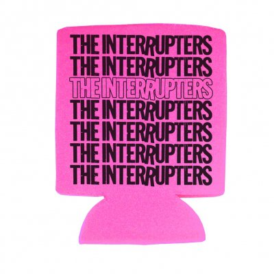 the-interrupters - Repeater Coozie (Hot Pink)