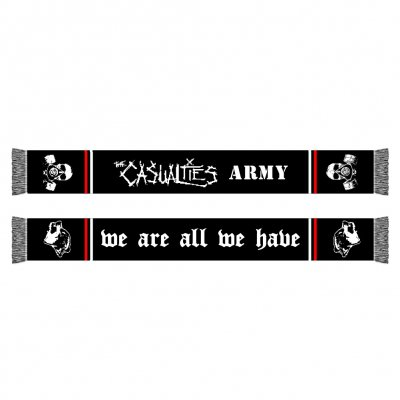 the-casualties - We Are All We Have Scarf