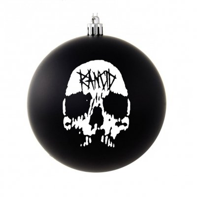 rancid - Rancid Skull Ornament (Black)