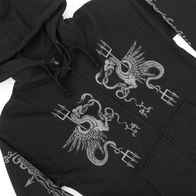 behemoth - Serpent Zip Up Sweatshirt (Black)