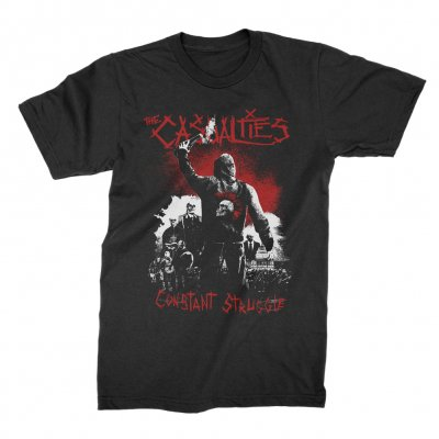 the-casualties - Constant Struggle T-Shirt (Black)