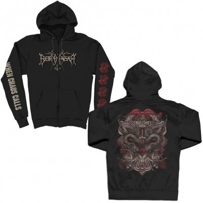 valhalla - When Chaos Calls Zip Up (Black)