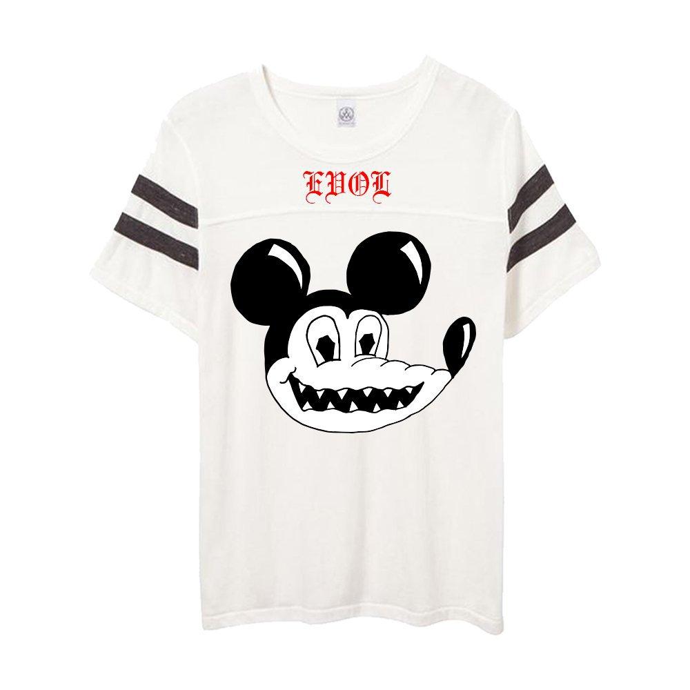 IMAGE | Evol Steve Jersey T-Shirt (White)