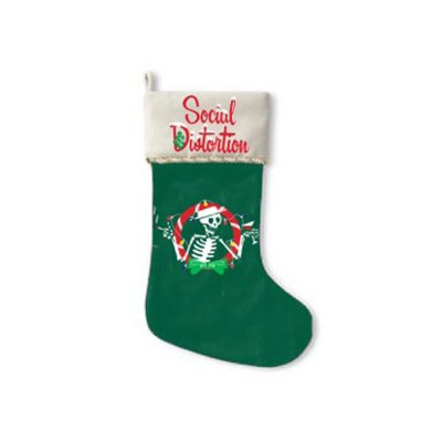 social-distortion - Christmas Skelly Stocking