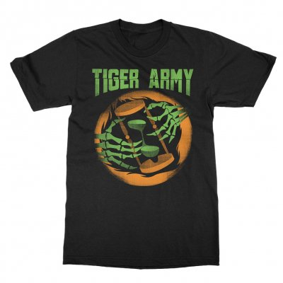 tiger-army - Hourglass T-Shirt (Black)