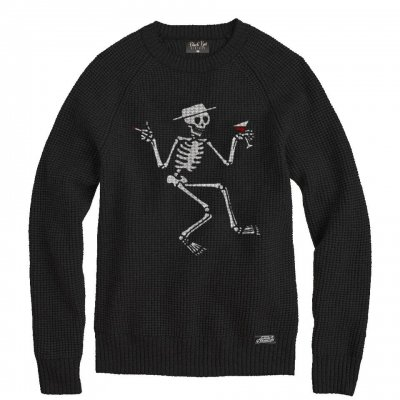 social-distortion - Skelly Knit Sweater (Black)