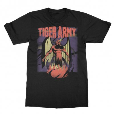 tiger-army - October Flame Event Tee (Black)
