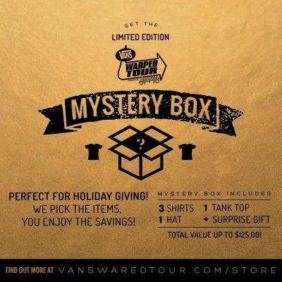 vans-warped-tour - Vans Warped Tour Mystery Box