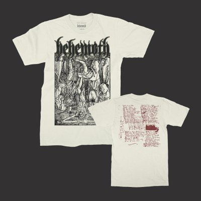 behemoth - Lvcifer T-Shirt (Natural)
