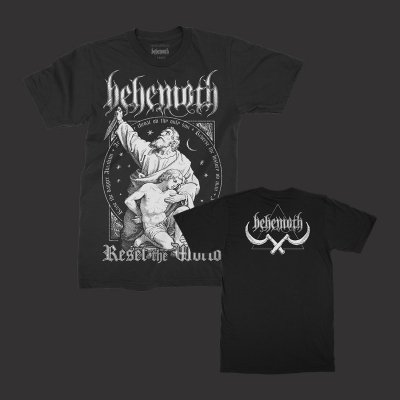valhalla - Reset The World T-Shirt (Black)