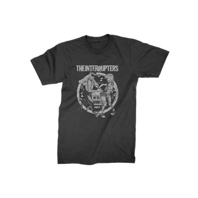 the-interrupters - Dancing Couple Kid's T-Shirt (Black)