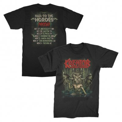 kreator - Hail To The Hordes US Tour T-Shirt (Black)
