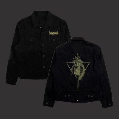 behemoth - Custom Sigil Denim Jacket (Black)