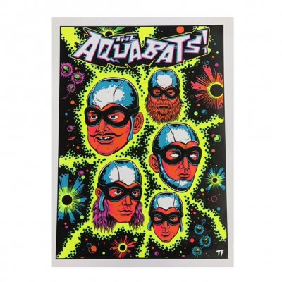 the-aquabats - Blacklight Poster