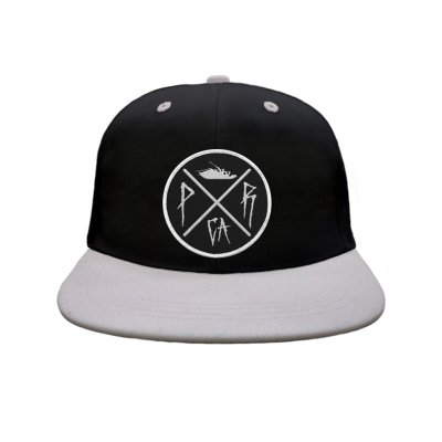 papa-roach - Ltd. Crossing Snapback Hat (Black/Gray)