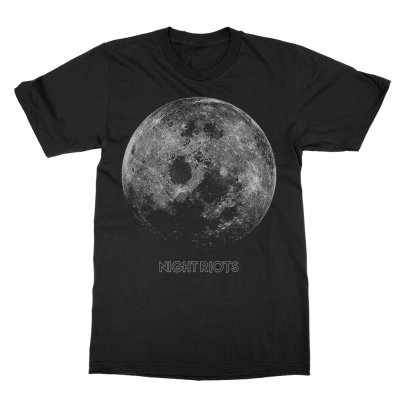 night-riots - Moon Tee (Black)