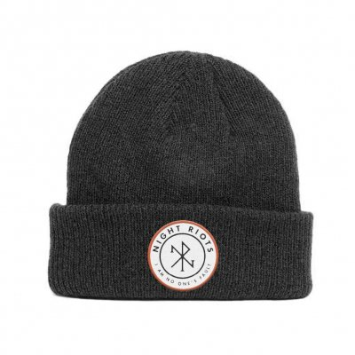 night-riots - Patch Beanie (Black)