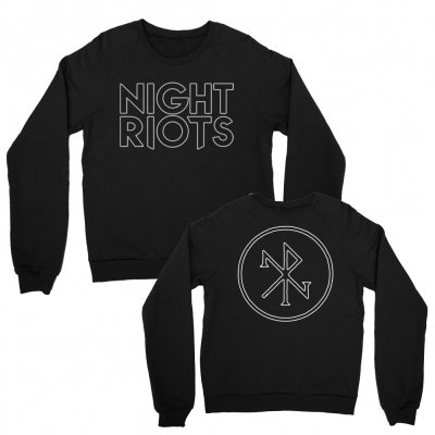 night-riots - Logo Crewneck (Black)