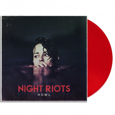 "night-riots - Howl 12"" EP (Transparent Red)"