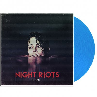 "night-riots - Howl 12"" EP (Transparent Blue)"