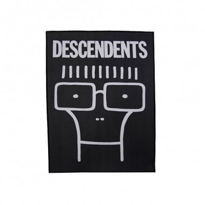 descendents - Milo Back Patch (Black)