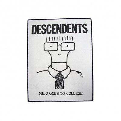descendents - Milo Goes To College Back Patch (White)