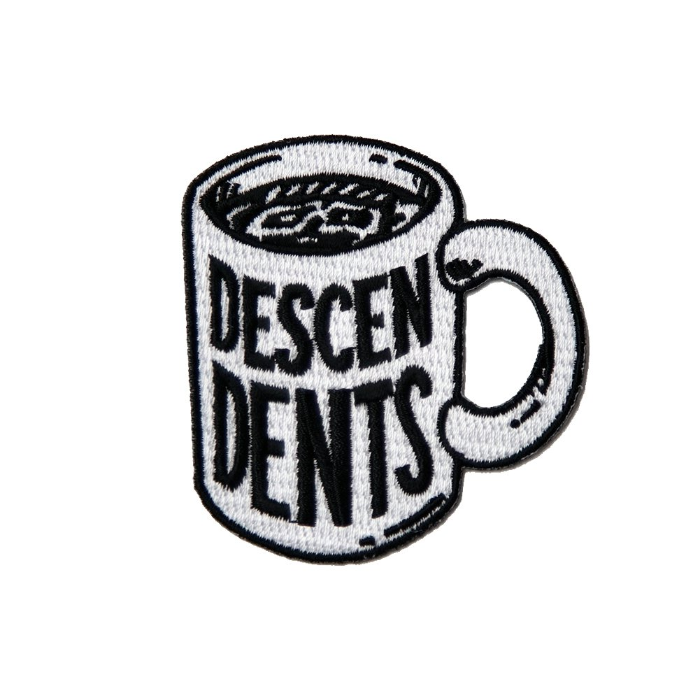 Coffee Mug Embroidered Patch